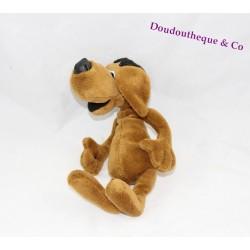 Advertising stuffed dog Fund savings brown glasses black 24 cm