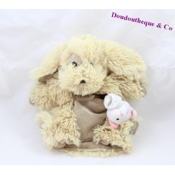doudou marionnette lion histoire d 39 ours beige 24 cm sos doudou. Black Bedroom Furniture Sets. Home Design Ideas