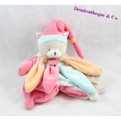 Doudou marionnette chat DOUDOU ET COMPAGNIE Collector DC2799 22 cm