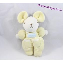 Plush mouse yellow Bell Teddy bear 23 cm