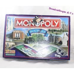 Jeu de société Monopoly Bourges HASBRO édition de la ville de Bourges Complet