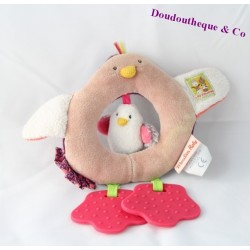 Rattle hen MOULIN ROTY cousins of the mill 19 cm