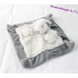 Doudou plat mouton J-LINE JLINE gris 25 cm
