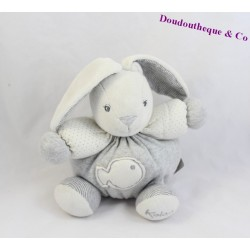 Doudou ball rabbit KALOO Zen grey fish