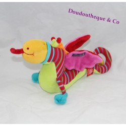 Doudou dragon MOULIN ROTY Dragobert collection 30 cm