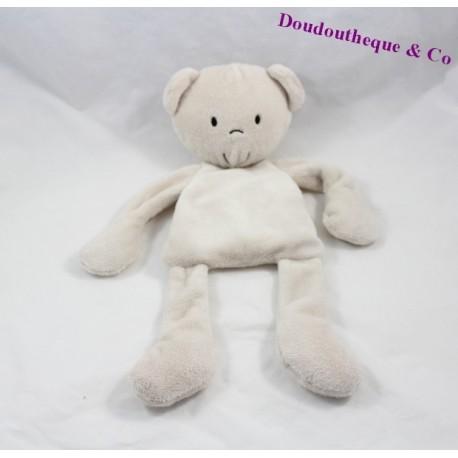 teddy bear flat semi the same thing to the same beige 34 cm sos