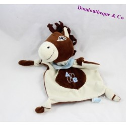 Doudou flat horse RAYNAUD Rugby Bayonne 25 cm AB