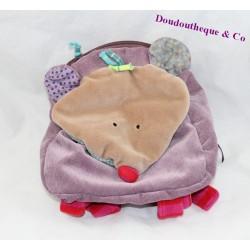 Sac à dos souris MOULIN ROTY Les Jolis Pas Beaux éveil sac maternelle peluche