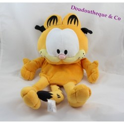 Bouillotte peluche Garfield SANODIANE chat orange bande dessinée 50 cm