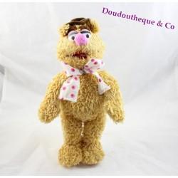 Peluche Fozzie LANSAY The Muppets 2006 beige 32 cm