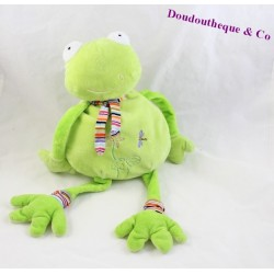 Peluche, Doudou Grenouille 45 cm BREMEL CP INTERNATIONAL