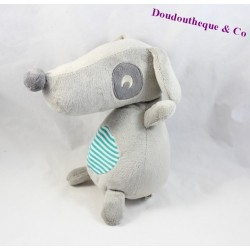 Dog plush Sherpa ORCHESTRA P - on the nose sharp 23 cm stripes gray road