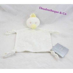 Doudou flat white PRIMARK EARLY DAYS duck star 27 cm