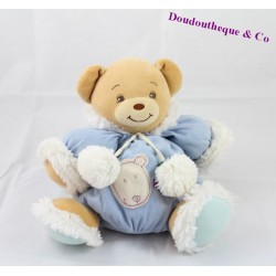 Doudou patapouf ours KALOO collection Igloo 25cm