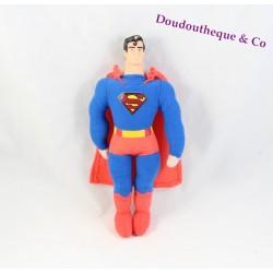 Peluche Superman DC COMICS super héro tête en plastique 26 cm