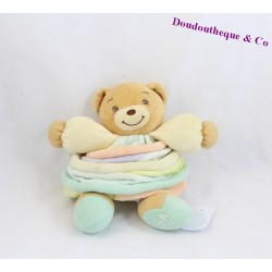 Peluche, Doudou boule ours KALOO 25cm collection Candies