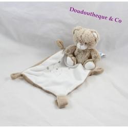 Doudou bear TEX white white handkerchief beige Mon Doudou 35 cm