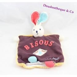Doudou puppet rabbit KALOO Sweet life Kisses All Sweet 23 cm