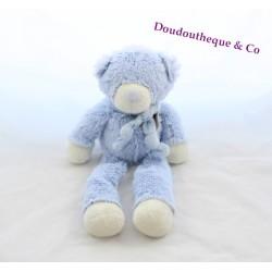 Doudou Ours bonbon DOUDOU ET COMPAGNIE bleu 60 cm