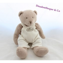 Peluche ours THE PLUSHIES COLLECTION BY LOMBOK Bizou beige