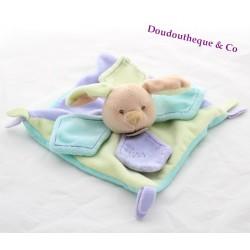 BABY NAT flat dog comforter Les Gribouillis
