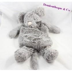 Plush range Pajamas mouse ETAM heating pad grey 45 cm