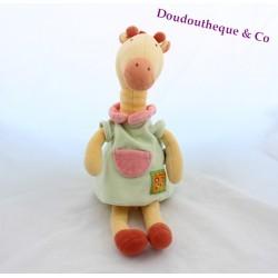 Doudou plat Girafe MOULIN ROTY Les Loustics