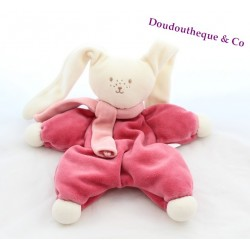 Doudou rabbit flat COROLLA Bell scarf scarf pink