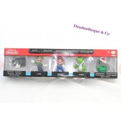 Lot figurines Mario NINTENDO MC DO HAPPY MEAL mario donkey toad  kart