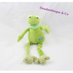 Plush frog the little Mary green long legs Lily 27 cm