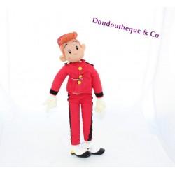 Doll Spirou CAPRICE journalist plastic plastic fabric 37 cm