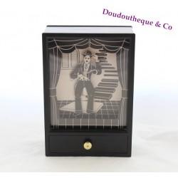 Ancienne boite à musique Charlie Chaplin dansant As time goes by vintage