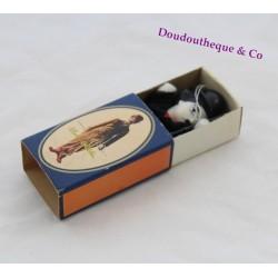 Ancienne boite d'allumettes poupée Charlie Chaplin vintage 1980
