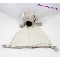 Doudou plat koala H&M New arrival rayures 29 cm