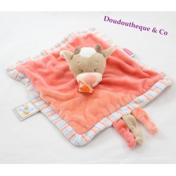 Doudou flat cow NATTOU the Zamis
