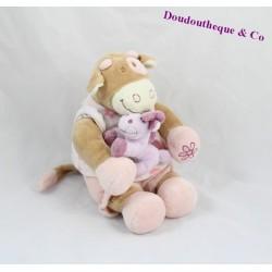 Peluche musicale vache NOUKIE'S Lola cheval Jack 22 cm