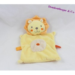 Lion flat comforter NICOTOY yellow orange cross center 22 cm