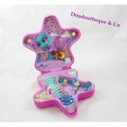 Boîte Polly Pocket BLUEBIRD étoile des fées enchantée 4 personnages