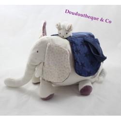Elephant plush toy MOULIN ROTY Aimé et Céleste