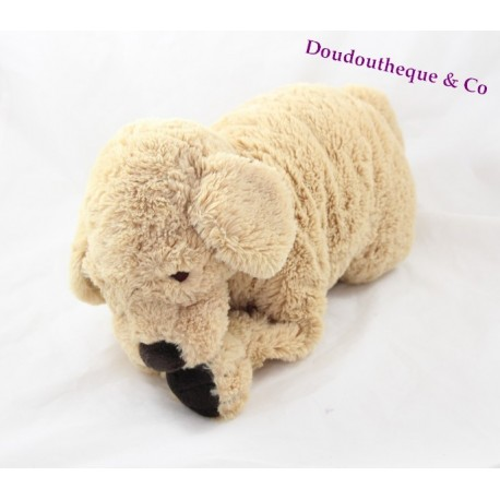 peluche chien ikea beige gosig golden retriver 40 cm sos doudou. Black Bedroom Furniture Sets. Home Design Ideas