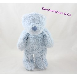 Teddy bear ZARA HOME sky blue 28 cm