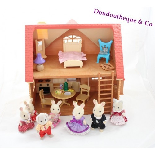 Maison Sylvanian Families Cosy Cottage Starter Home Figurines S