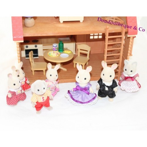 maison sylvanian families cosy cottage starter home figurines s. Black Bedroom Furniture Sets. Home Design Ideas