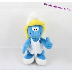 Peluche Schtroumpf  I PUFFI  SIP TOYS  GIOCHI PREZIOSI  bleu et blanc 30 cm