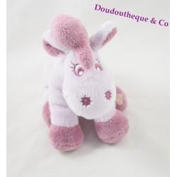 Peluche Lucie Cheval violet Noukie's