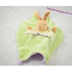 Teddy bear and rabbit reversible purple green Teddy bear