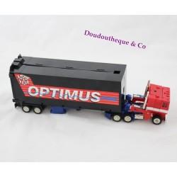 Camion Transformers HASBRO Optimus Prime remorque noir 1992