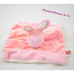 Donkey flat comforter TEX pink salmon square purple 19 cm
