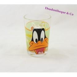 Glass Daffy Duck Looney Tunes Warner Bros AMORA mustard