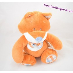 Peluche Renard William et Henry musical NOUKIE'S 25 cm